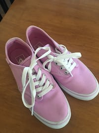 Pink Vans.  Worn once, briefly.   Sherwood Park, T8H 1T2