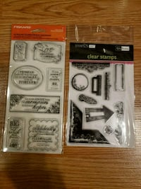 New clear stamps Hanover, 21076
