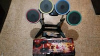 Xbox  One Wireless Rock Band 4 drum kit and cymbal