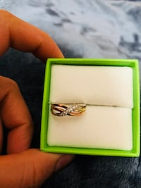 silver-colored ring with box Woodbridge, 22192