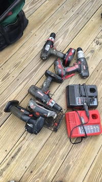 red and black power tools Patchogue, 11772