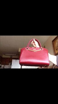 JOY & IMAN Couture Leather Satchel like new Livonia, 48152