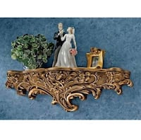 Gold wall shelf / scone-2 (each for $56) Chantilly, 20152