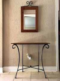 Console Table and Mirror  Toronto, M9A