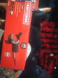 Brand new Craftsman 7.5 amp 4-1/2 small angle grinder Port Coquitlam, V3B 4A3