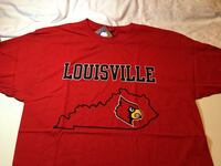 Louisville Cardinals Outline Shirt Little Rock