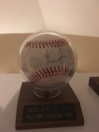 Nolan Ryan autograph ball Woodbridge, 22191