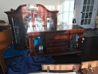 Dining table and hutch GAINESVILLE
