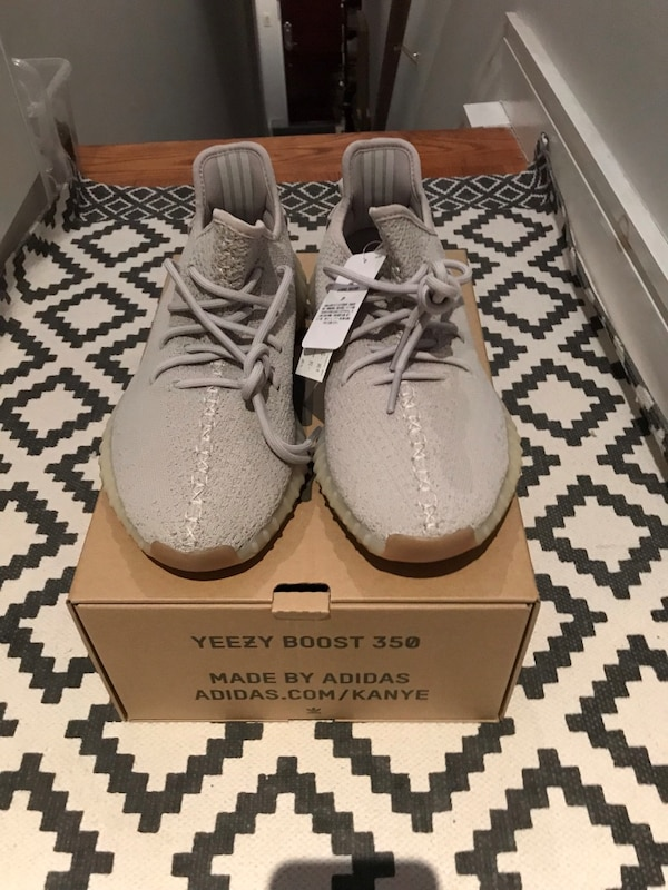 7dc63be7359de Used Yeezy Boost 350 V2 Sesame 9.5 for sale in New York - letgo