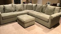 gray suede couch Canton, 30114