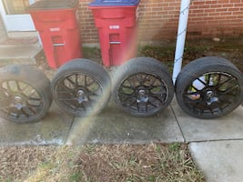 Car wheels + tires