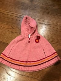 Sweater/cape. Size 6-12 months. Ashburn, 20147