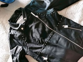 Moto Style Jacket - New with Tags