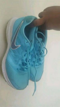 pair of blue Nike running shoes Brea, 92823