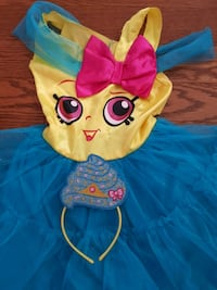 Halloween costume for girls from Shopkins with head band Laval, H7P 5W2