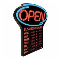 "NEWON LED ""OPEN"" Sign Vaughan, L6A 0B1"