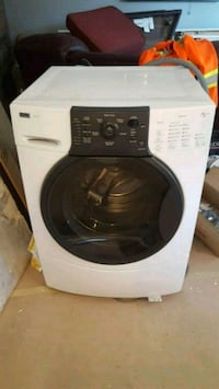 white and black front-load clothes washer Hamilton, L8T 4N1