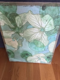 Green Floral Canvas picture  Glenview, 60025