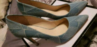Guess Jean's inspired stiletto shoes size: 9.5