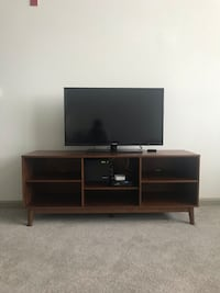 Entertainment center & side table