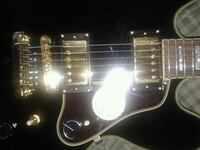 black and white electric guitar Augusta, 30901