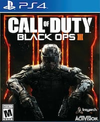 Brand new Call of duty black ops 3 (ps4)