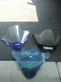 Yamaha snowmobile windshields