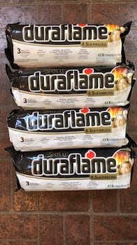 Duraflame firelogs (Price for all 4) West Chester, 19380