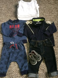 toddler's assorted clothes 9_12months Vancouver