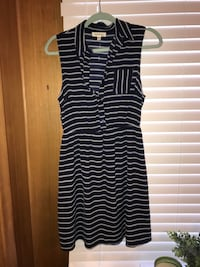 Black and white stripe sleeveless dress Arlington Heights, 60005