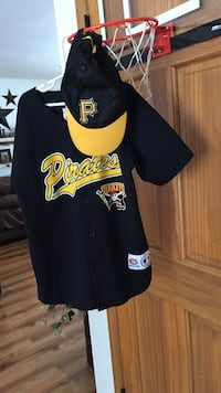 Pittsburgh Pirates Youth Jersey and Hat Tamaqua