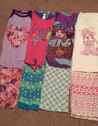 4 pieces girl pijamas all of for 10 size 14-16 Bay Shore, 11706
