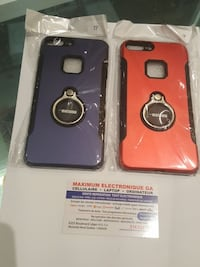 two blue and red grip phone cases Montréal, H1G