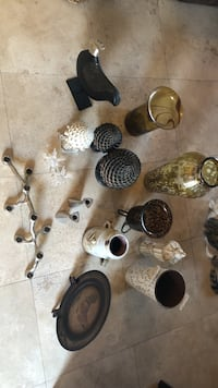a bunch of decorative pieces. choose any