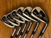 Callaway X22 Tour Irons with New Grips