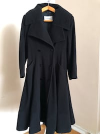Vintage Versace Woman's Cashmere/Wool Flared Coat - Medium Stoney Creek, L8G 3N7