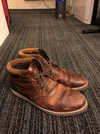 Brown leather boots - made in INDIA Toronto, M4M 3A8