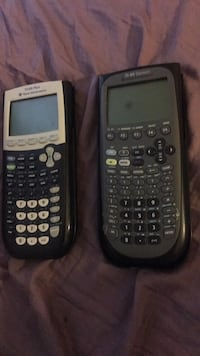 Two black texas instruments ti-84 plus Burke, 22015