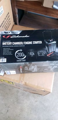 Battery charger/Engine Starter or Booster Box