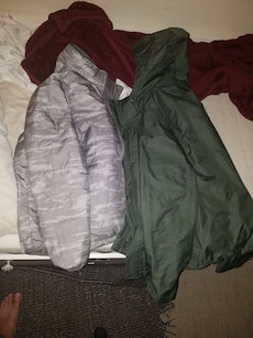 North Face rain jacket plus liner