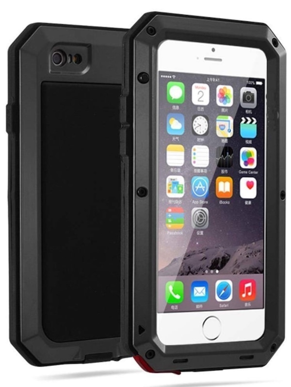 uk availability ad173 7bd3b Mangix iPhone 6S + protective case with screen