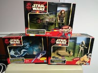 three Star Wars action figure packs