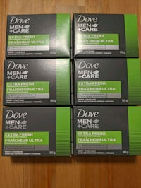 BN Dove Body and Face soap bar for MEN x6