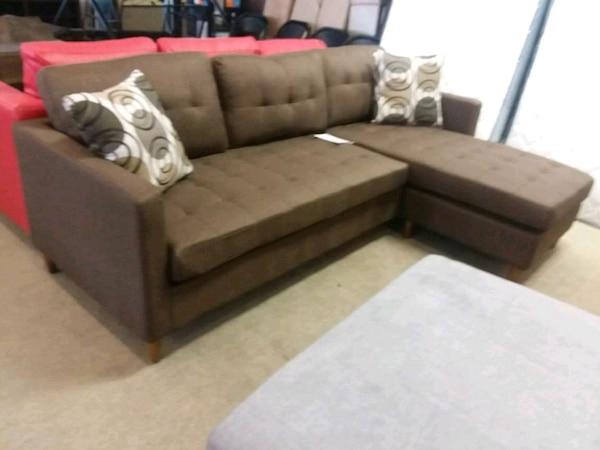 Brown sectional sofa on sale