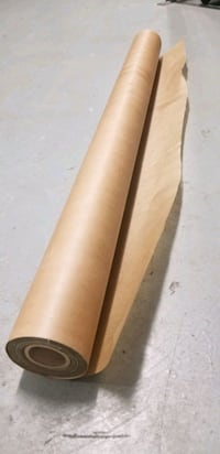 Hardwood flooring wax paper