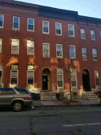 Triplex family house in Baltimore MD occupied  Baltimore