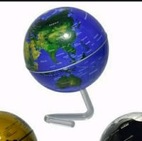 "New in box 4"" self rotating globe Montreal, H8T"
