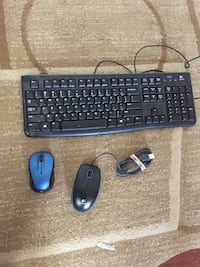 two computer mouses and one computer keyboard Highland, 20777