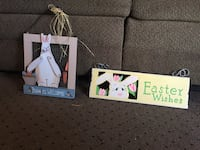 Two easter signs