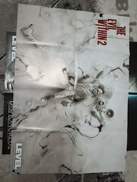 The Evil Within 2 poster 8853 km